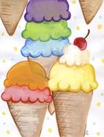 Floating Ice Cream Fine-Art Print