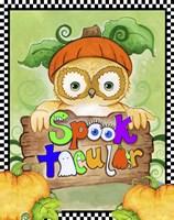 Spooktacular Owl Fine-Art Print