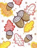 Acorn Rain Fine-Art Print