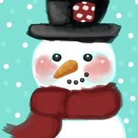 Snowman Fine-Art Print