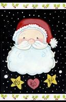 Ho Ho Santa Claus Fine-Art Print