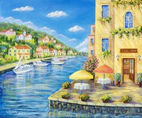 Cafe on the Water Fine-Art Print