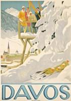 Davos Skiing Fine-Art Print