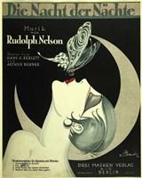 Art Deco Music Sheet Fine-Art Print
