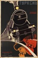Art Deco Railroad Russia Fine-Art Print