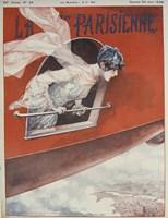 Artdeco Airplane Lavie Parisienne Fine-Art Print