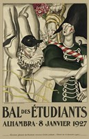 Bal Etudiants Fine-Art Print