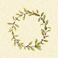 Holly Wreath Fine-Art Print