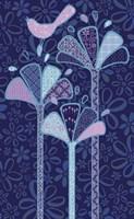 Dancing Petals Applique Fine-Art Print