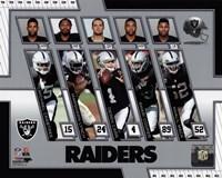 Oakland Raiders 2017 Team Composite Fine-Art Print