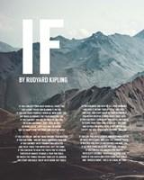 If by Rudyard Kipling - Mountains Fine-Art Print