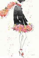 Floral Fashion IV v2 Fine-Art Print