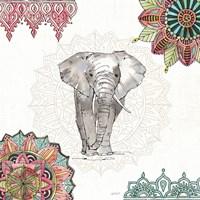 Mandala Morning IV Framed Print