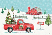 Christmas in the Country I Fine-Art Print