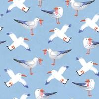 Coastal Birds Pattern II Fine-Art Print