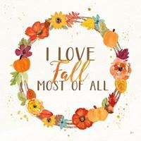 Harvest Wishes I Fine-Art Print