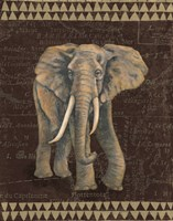 Grand Elephant Traveller Fine-Art Print