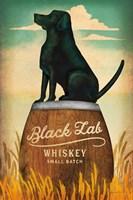 Black Lab Whiskey Fine-Art Print