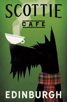 Scottie Cafe Fine-Art Print