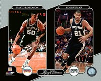 David Robinson & Tim Duncan Legacy Collection Fine-Art Print