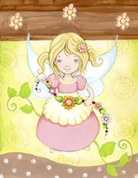 Fairy in my Garden Fine-Art Print