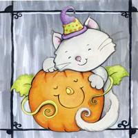 Pumpkin Hugs Fine-Art Print