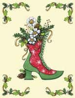 Christmas Boot Fine-Art Print