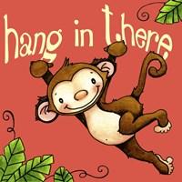 Hang In Monkey Fine-Art Print