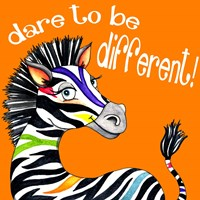 Different Zebra Fine-Art Print