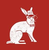 Wabbit Red Fine-Art Print
