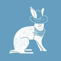 Wabbit Blue Fine-Art Print