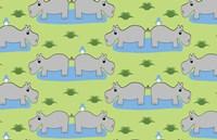 Happy Hippos Fine-Art Print