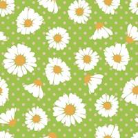 Retro Spring Daisies Fine-Art Print
