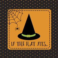 If The Hat Fits Outline Fine-Art Print
