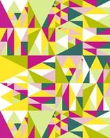 Geometrics Green Fine-Art Print