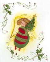 Angel with Tree Fine-Art Print
