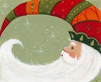 Santa In Elf's Hat Fine-Art Print