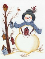 Snowy Friend Fine-Art Print