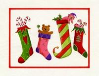 Four Stockings Fine-Art Print