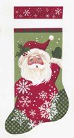 Santa Stocking Fine-Art Print