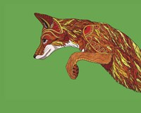 Fox Pounce Fine-Art Print