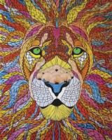 Lion Ablaze Fine-Art Print
