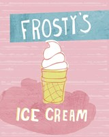 Frosty's Ice Cream Fine-Art Print