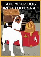 Take Your Dog by Rail Fine-Art Print