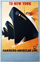 Hamburg American Line Fine-Art Print