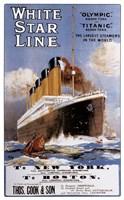White Star Line Fine-Art Print