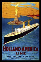 Holland America Line Fine-Art Print