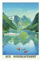 Nordkapfahrt Fine-Art Print