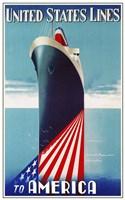United States lines Fine-Art Print