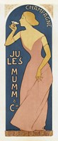 Champagne Ju Les Mumm Fine-Art Print